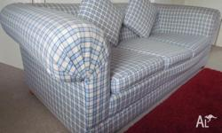 cozy and very comfortable 3 seater sofa, comes wih 2