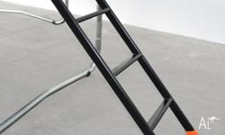 Ladder Material - Powdecoated Galvanised Steel Colour -