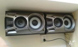 selling the speakers as we lost the subwoofer while