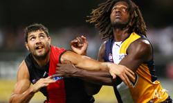 3 x Essendon vs West Coast Eagles Tickets - Sat 16th
