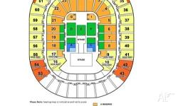 I have the following tickets available for Justin