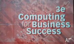 I am selling: 3e Computing for Business Success $25