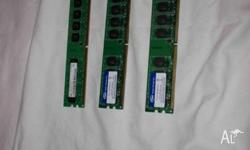 this is 3 x 1GB ram units. salvaged from alienware pc.