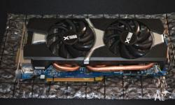 Hi I am selling a used R9 280X in excellent condition.