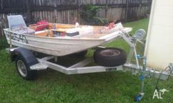 FORSALE 3 Metre flat bottom Norweld punt on Custom