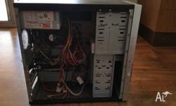 $100 the lot 3x Desktop PC no hard drives & 1 PC Case