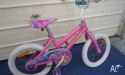 In good condition 40 cm Bicycle with rear and front