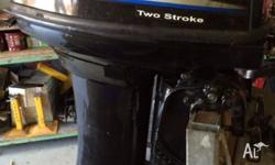 As new sail 2 stroke outboard long shaft motor as new