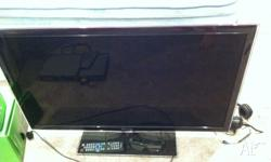 "40"" LED LCD TV owned for around 3 years in good"