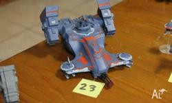 Tau Empire Devilfish Troop Carrier (painted). I also