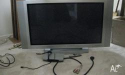 Model Number: 42PX2RV-TA Includes set top box with