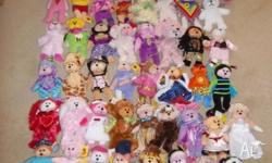 49 Beanie Kids. Few played with, (most part of