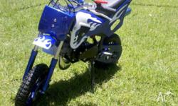 Brand New 49cc Automatic Kids Dirt Bike, Fully
