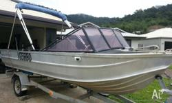 I have a 4.9m Clark abalone for sale. Boat is in good