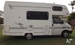 1996 Volkswagon Winnebago. Sleeps 4.Flatscreen tv with