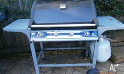 Beachcomber 4 burner, reasonable condition, some rust,