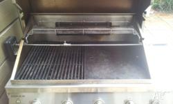 Good condition barbeques galore bbq. Four burners plus