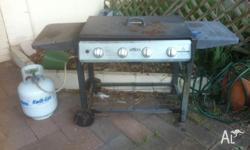 4 Burner BBQ with 9kg gas bottle
