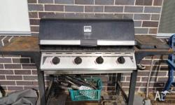 Free. Phone calls only please. Used 4 burner gas bbq.
