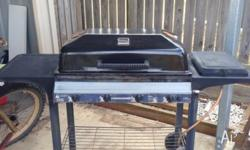 Barbecues Galore Downunder 4 burner hooded BBQ, good