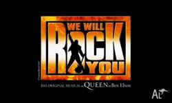 WE WILL ROCK YOU BRISBANE ARTS THEATRE SATURDAY 2ND