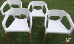 4 x Maxx Chair, ideal for dining or office. Chairs are