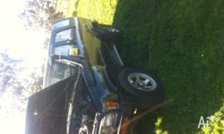 1989 4 runner factory turbo 2.4L 2L-T 5 speed manual,