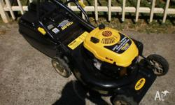 4 stroke lawnmower for sale is in good condition starts