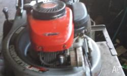 victa 4 stroke mower in excellent condition, with