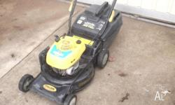 hi selling my lawnmower which is 4 stroke and very