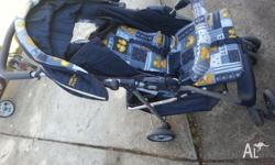 4 wheel pram. good used condition.