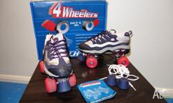 Hot Pink � Navy 4-Wheeler by Skechers adult roller