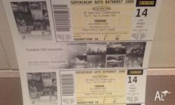 4 x Grandstand 4 day tickets in Pit Lane - Stand 8 -