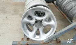 "4 x mag wheels, 16"" x 7"" to suit F100, F150 and Bronco"