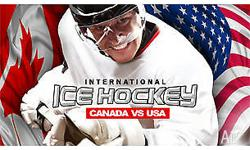 International Ice Hockey Canada vs USA 25th July Rod
