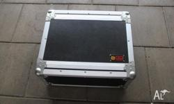 "4RU ""Go Case"" rackmount case. Very good condition not"