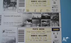 I have 4 silver tickets for sale. 12 SEPT 7.30 PM PERTH