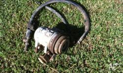 selling a belt driven air oompressor for a 4wd brackets