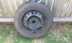 Rubber unroadworthy, rims not damaged and size in