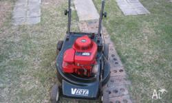 This a good valued 4 stroke mower and catcher. Is a