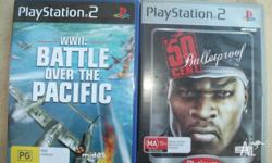 Get these 2 awesome games (50 cent bullet proof + WWII