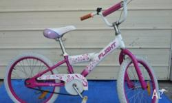 Two 50 cm girl's Bicycles each $ 38.- One blue 30 cm