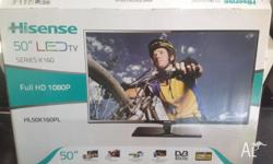 Bought new less than a year ago 50 inch LED Hisense TV