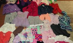 50 items of girls size 5 clothes. all seasons. brand