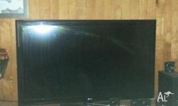 "51 "" LG Flat screen Tv, only 18 months old"