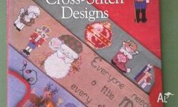 520 Christmas Cross Stitch Designs by Sam Hawkins. Hard