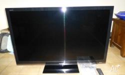 Hi all! I'm regretfully selling my awesome Sharp TV as
