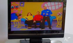 Hardly used, small 55cm, flat screen 'Dick Smith' TV