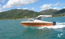 565 Haines Hunter with hull extension, 2004 model 150