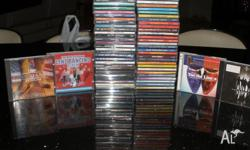 59 Country Music CD's some are 2 disc cds very good